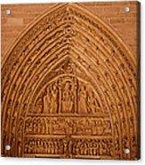 Paris France - Notre Dame De Paris - 01136 Acrylic Print by DC Photographer