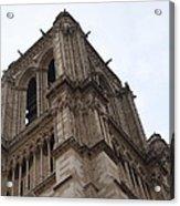 Paris France - Notre Dame De Paris - 01139 Acrylic Print by DC Photographer