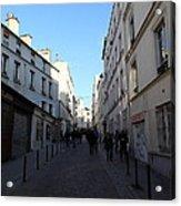 Paris France - Street Scenes - 01131 Acrylic Print by DC Photographer