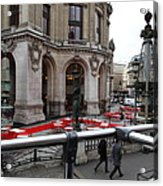 Paris France - Street Scenes - 0113115 Acrylic Print