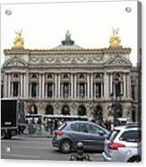 Paris France - Street Scenes - 121246 Acrylic Print
