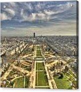 Paris From Eiffeltower Acrylic Print