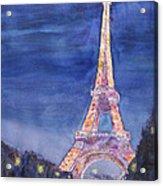 Paris Giant Acrylic Print