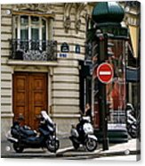 Paris Holiday Acrylic Print