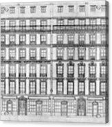 Paris Houses, 1841 Acrylic Print