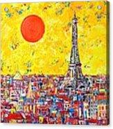 Paris In Sunlight Acrylic Print