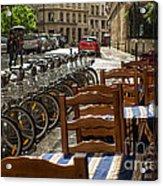 Paris In The Rain Acrylic Print