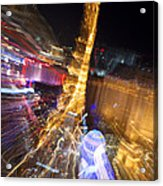 Paris In Vegas Acrylic Print