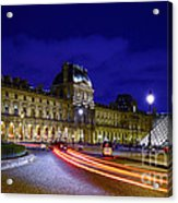 Paris Louvre Museum Acrylic Print