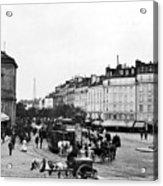 Paris Montparnasse, C1900 Acrylic Print