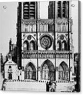 Paris Notre Dame, 1699 Acrylic Print