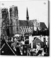 Paris Notre Dame, 1862 Acrylic Print