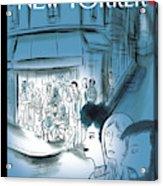 Paris, November 2015 Acrylic Print