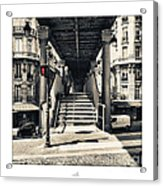 Paris - Old Man Acrylic Print
