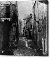 Paris Old Street, C1860 Acrylic Print