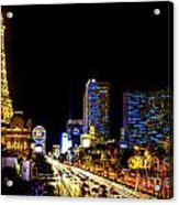Welcome To Vegas Acrylic Print
