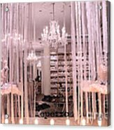 Paris Repetto Ballerina Tutu Shop - Paris Ballerina Dresses Window Display  Acrylic Print
