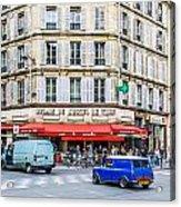 Paris Resturante Acrylic Print