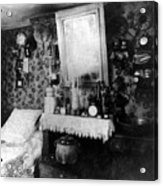Paris Single Room, C1910 Acrylic Print