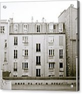 Solitude In Paris Acrylic Print
