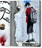 Paris Spraycan 1 Acrylic Print