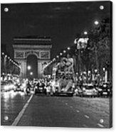 Paris Street Acrylic Print