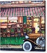 Paris Street Market Acrylic Print