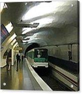 Paris Subway  Acrylic Print