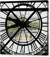 Paris Time Acrylic Print