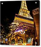 Paris Under The Tower Acrylic Print