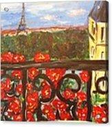 Paris View Acrylic Print
