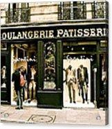 Paris Waiting Acrylic Print