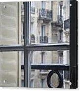 Paris Window Acrylic Print