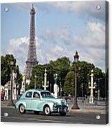 Parisian Charm Acrylic Print