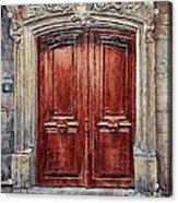 Parisian Door No. 8 Acrylic Print