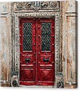 Parisian Door No.82 Acrylic Print