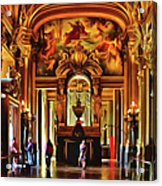 Parisian Opera House Acrylic Print
