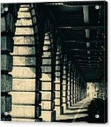 Parisian Rail Arches Acrylic Print