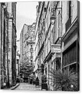 Parisian Street Acrylic Print by Georgia Fowler