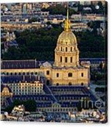 Parisien Sundown Acrylic Print