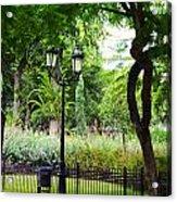 Park And Gardens Acrylic Print