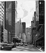 Park Avenue In New York City Acrylic Print