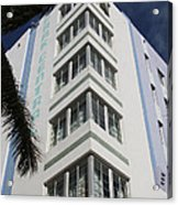 Park Central Building - Miami Acrylic Print