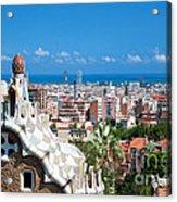 Park Guell Barcelona Acrylic Print