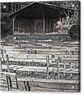 Park Pavilion Stage Acrylic Print