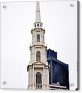 Park Street Church Boston Massachusetts Acrylic Print
