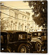 Parked Model A's Acrylic Print
