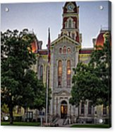 Parker County Courthouse Acrylic Print