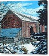 Parker Road Barn Acrylic Print