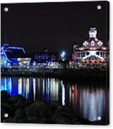 Parker's Lighthouse Reflections Acrylic Print